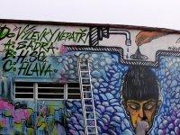 Společnost je ochotna uznat graffiti jako uměleckou formu, které bude v galerii