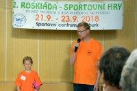 2. roskiáda - sportovní hry